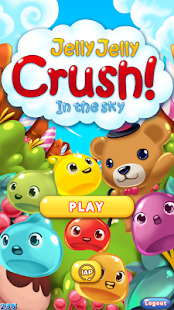 Jelly Jelly Crush - In the sky Screenshot