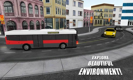 Real Manual Bus Simulator 3D Screenshot