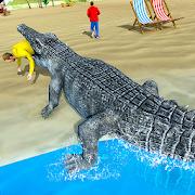 Hungry Crocodile Attack 3D: Crocodile Game 2019