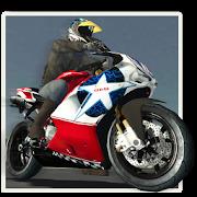Motorbike Police Pursuit