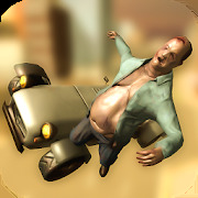 Ragdoll Car Dismounting