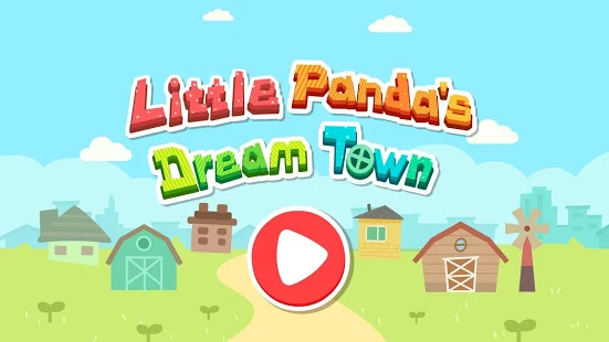 Little Pandas Dream Town Screenshot