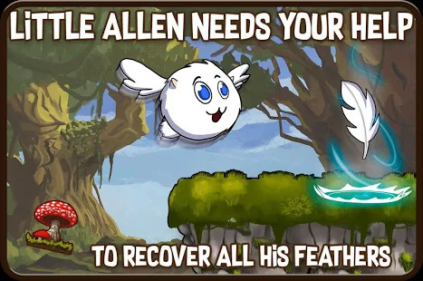 Allen The Alien : 2D Puzzles Physics - Brain Time! Screenshot