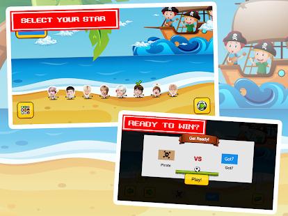 GOT7 Beach Ball : Cute Star Puppet Soccer Big Head Screenshot