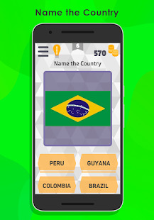 Flags of the World  Countries of the World Quiz Screenshot