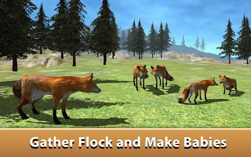 Wild Fox Simulator 2017 Screenshot