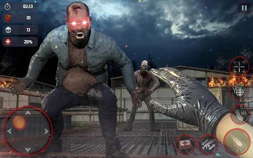 DEAD HUNTING EFFECT 2: ZOMBIE FPS SHOOTING GAME Screenshot