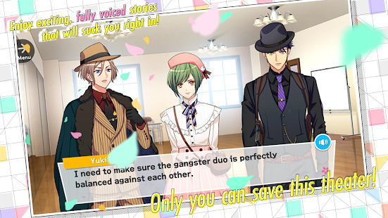 A3! Otome Anime Game Screenshot