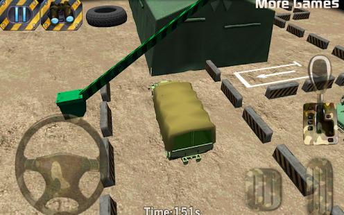 Army parking 3D - Parking game Screenshot