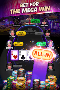 Mega Hit Poker: Texas Holdem massive tournament Screenshot