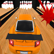 Ultimate Bowling Alley:Stunt Master-Car Bowling 3D