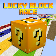 Lucky Block Race Map for MCPE