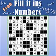 Number Fill in puzzles - Numerix, numeric puzzles