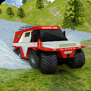 8 Wheeler Russian Truck Simulator: Offroad Games