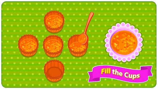 Baking Carrot Cupcakes - Coking Game Screenshot