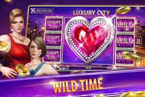 Casino Deluxe Vegas - Slots Poker & Card Games Screenshot