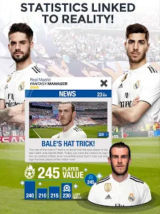 Real Madrid Fantasy Manager'19- Real football live Screenshot
