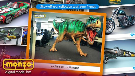 MONZO - Digital Model Builder Screenshot