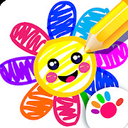 Toddler Drawing Academy Coloring Games for Kids