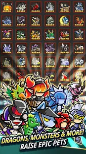 Endless Frontier - Online Idle RPG Game Screenshot