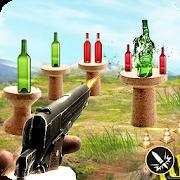Real Bottle Shooting Game Free - kids Bottle Shoot