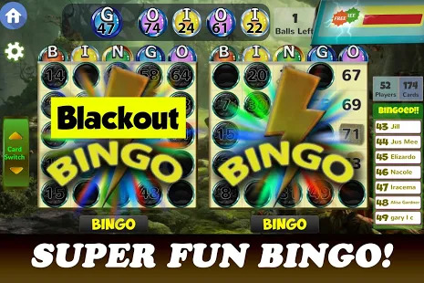 Black Bingo - Free Bingo Games Screenshot
