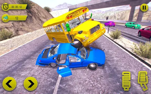 Car Crash Driving Game: Beam Jumps & Accidents Screenshot