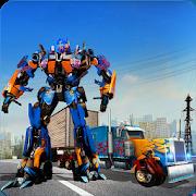 Heavy Truck Robot Giant Truck Driver Simulator