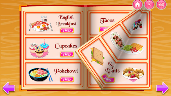 Cooking in the Kitchen - Baking games for girls Screenshot