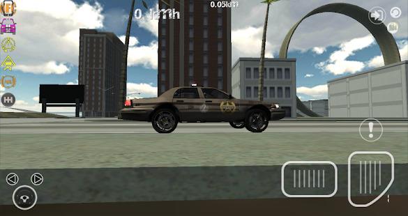 Police Car Driver Simulator 3D Screenshot