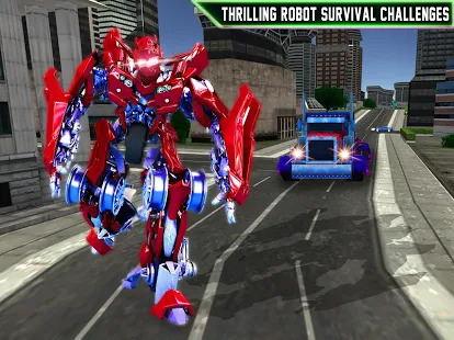 Futuristic Robo War: Ultimate War Robots Screenshot