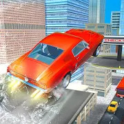 Smash Car Hit Impossible Track: Stunt games 3D