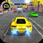 Racing in car 2018 - City traffic racer driving