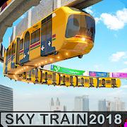 Elevated Train Driving Simulator: Sky Tram Driver