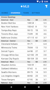 Pro Baseball Radio Screenshot