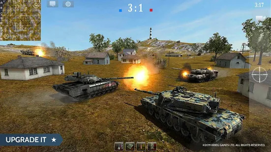 Armored Aces - Tanks in the World War Screenshot