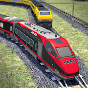Train Racing Simulator: Free Train Games