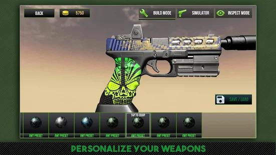 Custom Gun Simulator 3D Screenshot