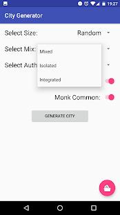 3.5 City Generator Screenshot