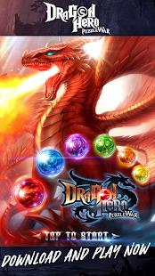 Puzzle Dragons War Match Screenshot