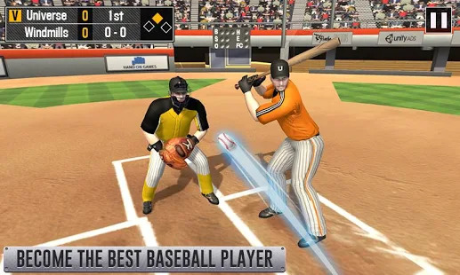 Baseball Home Run Clash 2019 - Baseball Challenge Screenshot