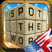 Spot the Word 3D - Word search in English