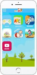 KidsTube - Youtube For Kids And Safe Cartoon Video Screenshot