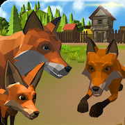 Fox Family - Animal Simulator 3d Game