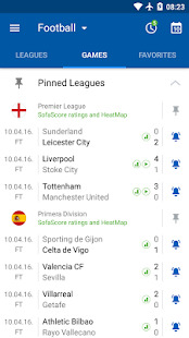 SofaScore - Live Scores, Fixtures & Standings Screenshot