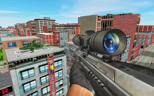 New Sniper Shooting Assassin Free Shooting Games Screenshot