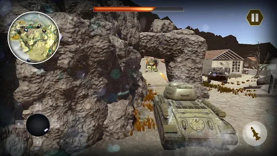 Epic Tank World War Fury - Real Army Panzer Battle Screenshot