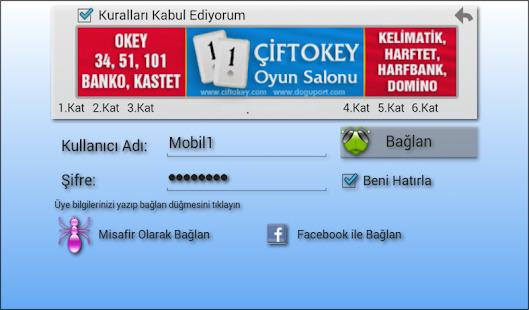 101 Okey Domino hakkarim.net Screenshot