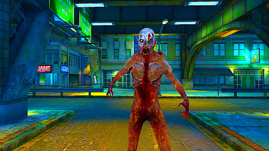Zombie Strike War 3D - Hunting Screenshot