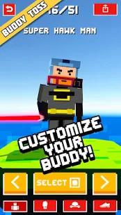 Buddy Toss Ragdoll Flick Game Screenshot